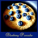 Blueberry Pancake ~ in the making by ©The Creative  Minds