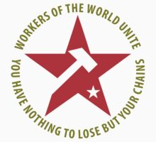 Workers of the World Socialist Red Star Stickers by NeoFaction