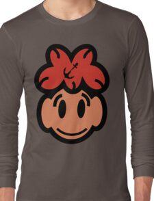 Cute Smiling Face Long Sleeve T-Shirt