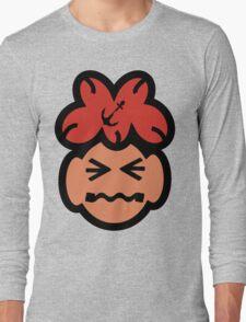 Cute Grimacing Face Long Sleeve T-Shirt