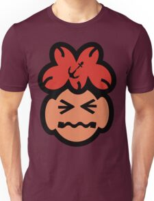 Cute Grimacing Face Unisex T-Shirt
