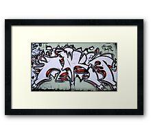 Graffiti As Art Framed Print