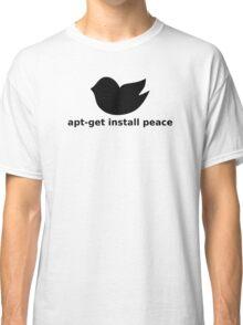 apt-get peace Classic T-Shirt