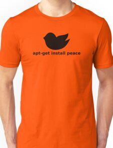 apt-get peace Unisex T-Shirt