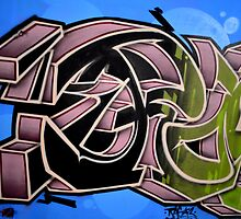 Graffiti up close  by Schoolhouse62
