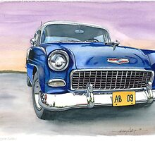 55 Chevy by Anthony Billings