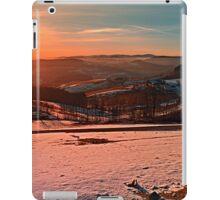 Colorful winter wonderland sundown II | landscape photography iPad Case/Skin