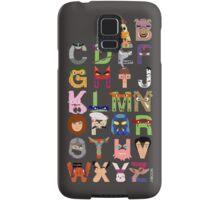 Teenage Mutant Ninja Turtle Alphabet Samsung Galaxy Case/Skin