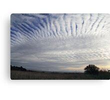 Cloud connections Canvas Print
