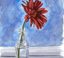 Flower In The Window by Anthony Billings