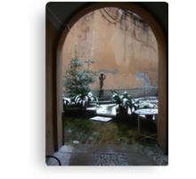 THIS PLACE IS SO MAGICAL...ITALY - MONDO- VETRINA   RB EXPLORE 2 FEBBRAIO 2014 - Canvas Print