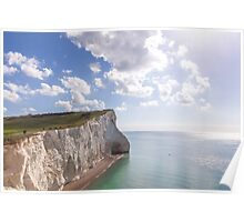 Tiny people and huge cliffs Poster