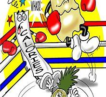 WEIGHT LOSS CARTOON by InspireCartoons