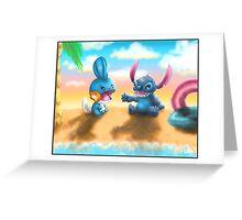 Stitchkip Greeting Card