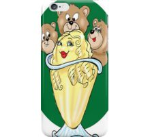 GOLDILOCKS CARTOON iPhone Case/Skin