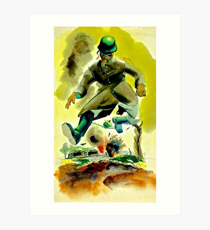 Soldier Boy Art Print
