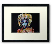 Madonna Framed Print