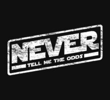 Never Tell Me The Odds (aged look) One Piece - Long Sleeve
