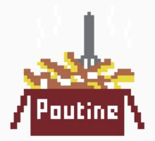 8-Bit Poutine Kids Clothes