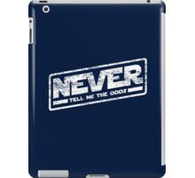 Never Tell Me The Odds (aged look) iPad Case/Skin