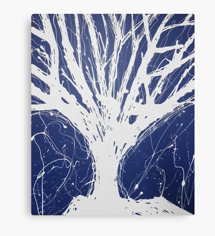 Abstract Tree Painting by Parrish Lee Canvas Print