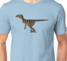 8-Bit Velociraptor Unisex T-Shirt