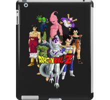 Dragon Ball Z All Star Vilians - Frieza, Majin Buu & Cell iPad Case/Skin