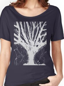 Abstract Tree Painting by Parrish Lee Women's Relaxed Fit T-Shirt