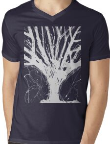 Abstract Tree Painting by Parrish Lee Mens V-Neck T-Shirt