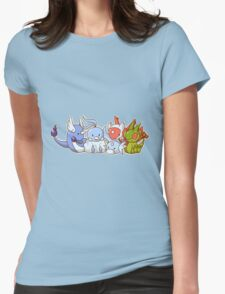 Pokemon Group Womens Fitted T-Shirt