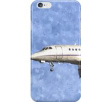 Dassault Falcon 2000 Jet Watercolour iPhone Case/Skin