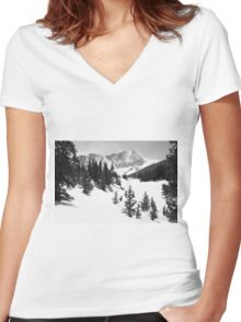 The High Country Women's Fitted V-Neck T-Shirt