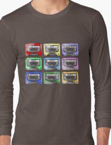 80's Tape Cassette Tee Long Sleeve T-Shirt