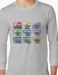 80's Tape Cassette Tee Long Sleeve T-Shirt
