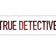 True Detective Logo Sticker