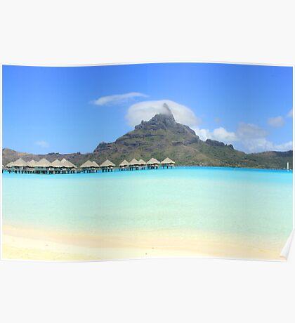 Otumanu Cloud - Bora Bora Poster