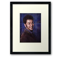 David Tennant as the 10th Doctor Framed Print
