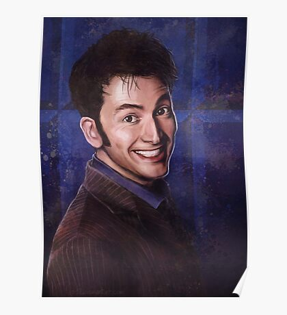 David Tennant as the 10th Doctor Poster