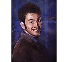 David Tennant as the 10th Doctor Photographic Print