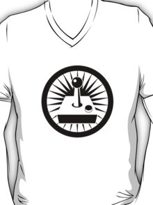 Retro Joystick (Black) T-Shirt