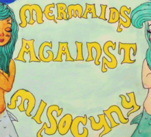 Mermaids Against Misogyny Sticker