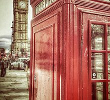 Big Ben and Red Box by Scott Anderson