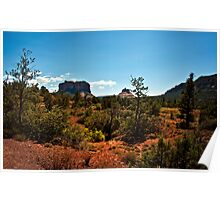 Sedona Heat of the Day Poster