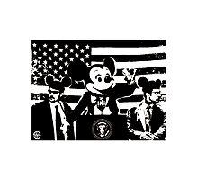 President Mickey Photographic Print