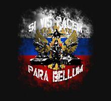 Si vis pacem para bellum russia w. white font Unisex T-Shirt