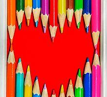Pencils Heart by MMPhotographyUK