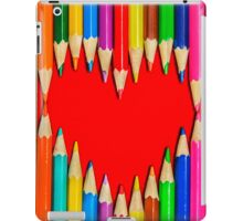 Pencils Heart iPad Case/Skin