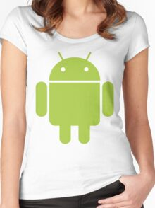 Android Droid Women's Fitted Scoop T-Shirt