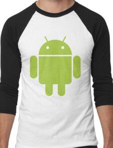 Android Droid Men's Baseball ¾ T-Shirt