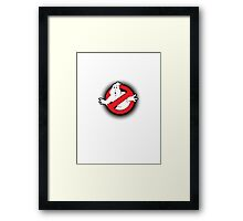 Original Ghostbusters Halftone Logo (in colour) Framed Print